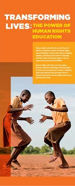 Transforming Lives: The Power of Human Rights Education